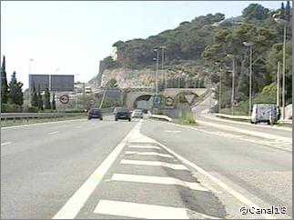 tunel garraf en barcelona