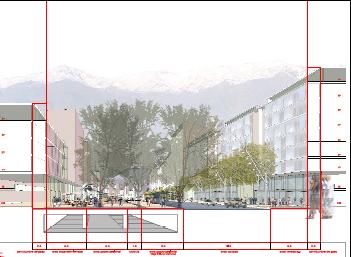 Perfil propuesto Boulevard Cordillera 3 lugar