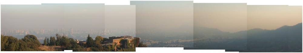 Contaminacin en Santiago