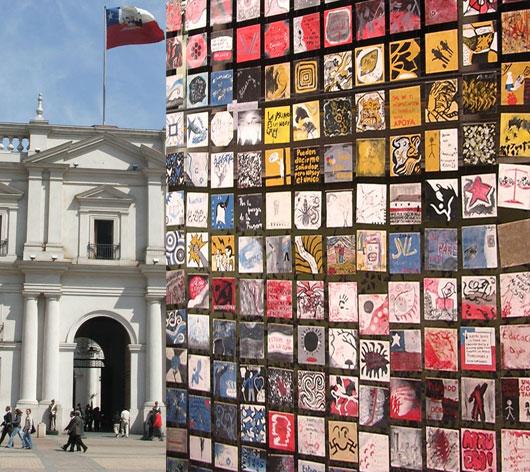 Mural busca recordar en la ciudad el Movimieto Secundario por la educacin chilena.