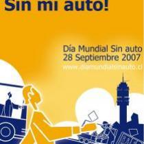 Afiche 2: Dia Mundial sin Auto