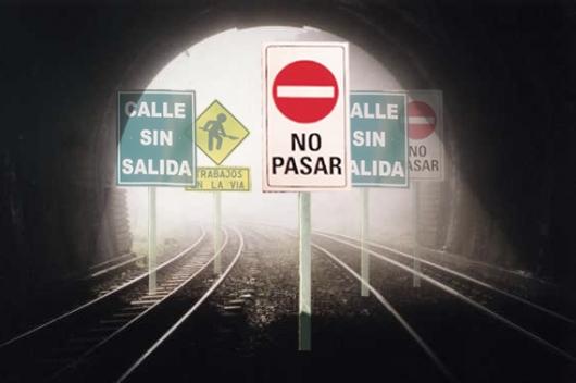 NO PASAR TUNEL SIN SALIDA