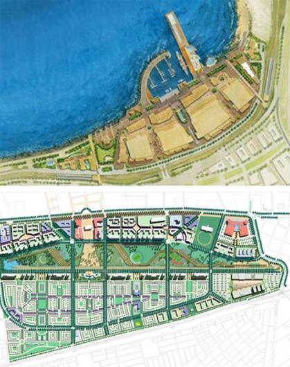 proyectos urbanos: puerto baron, portal bicentenario