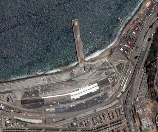 foto aérea actual de la zona