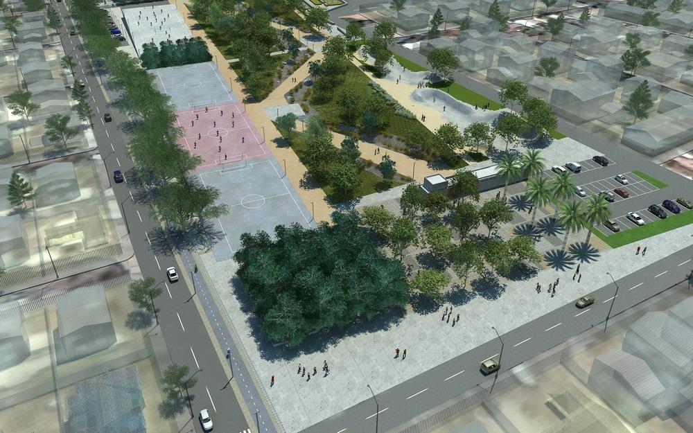 Dise o final parque pe alolen plataforma urbana for Viveros en penalolen