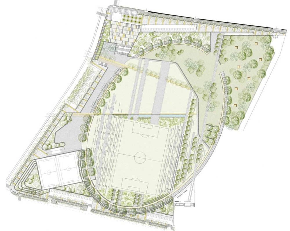 Dise o final parque pe alolen plataforma urbana for Plantas ornamentales para parques