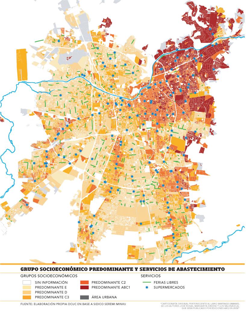 Mapa de santiago de chile por comunas for Calles de santiago de chile