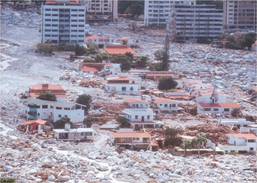 Los desastres de la naturaleza