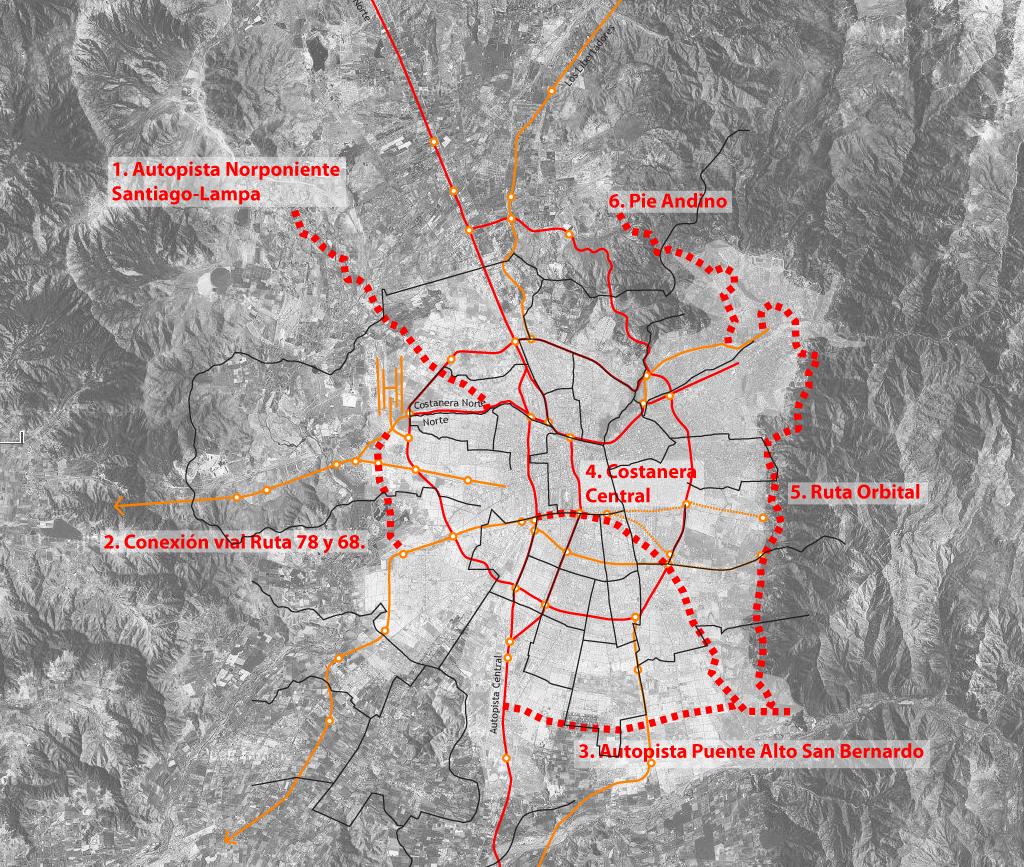 115 Nuevos Km De Autopistas Plataforma Urbana