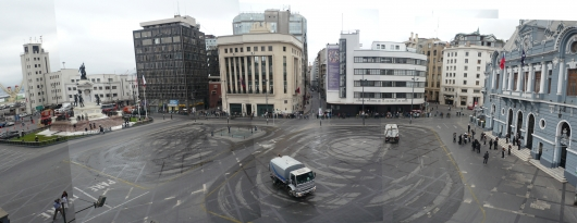 Plaza Sotomayor, el hermoseamiento previo a la visita del Príncipe Carlos