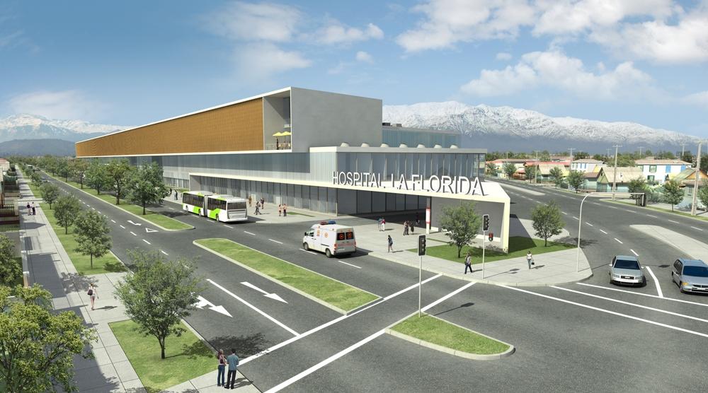 Concesionan nuevos hospitales en la florida y maip for Muros verdes definicion