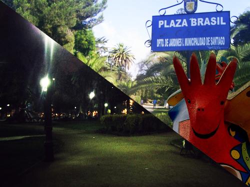 Plaza Brasil _ día y noche