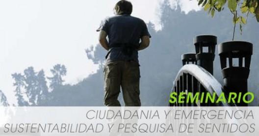 seminario ciudad y emergencia