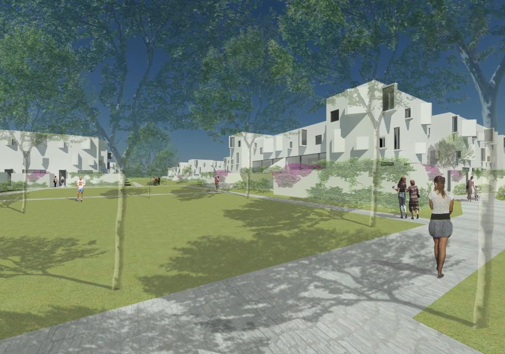 Imagen del proyecto ganador, fachada 1