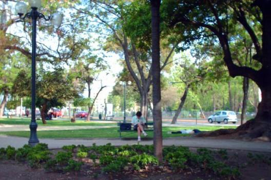 Parque Gómez Rojas. Imagen: Miguel Angel Sánchez Alvarez
