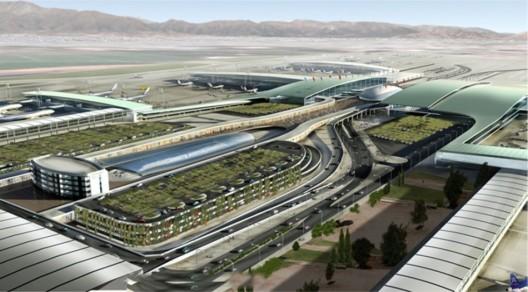Imagen de uno de los proyectos para el Aeropuerto Arturo Merino Benitez