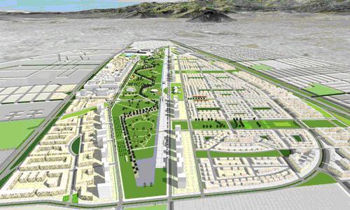 Proyecto Ciudad Parque Bicentenario Cerrillos