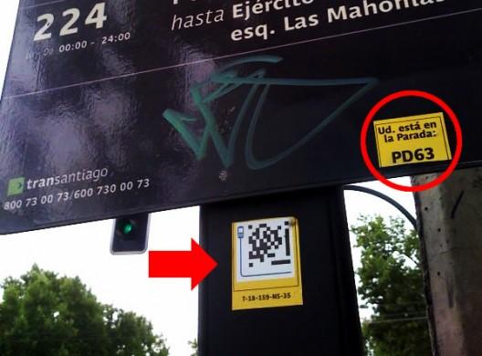 Ubicación del código EZcode - (cc) www.huasonic.com
