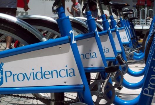 Bicicletas Públicas en Providencia - Imagen de Javier Vergara Petrescu
