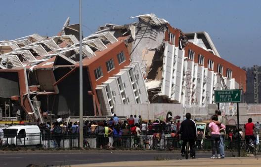 Una postal del terremoto - Concepción (AP Photo)