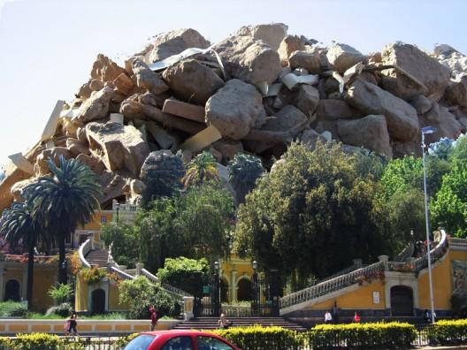 Cerro de escombros