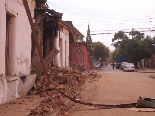 Talca post terremoto. Fotos bajo licencia CC vía flickr.com/chrissgee/