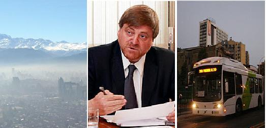 Calidad del aire, Ministro de Obras Públicas, Transantiago
