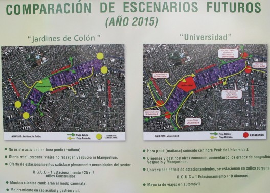 Panel informativo-Presentación Proyecto Cencosud