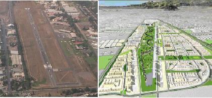 Aeropuerto - Ciudad Parque Bicentenario