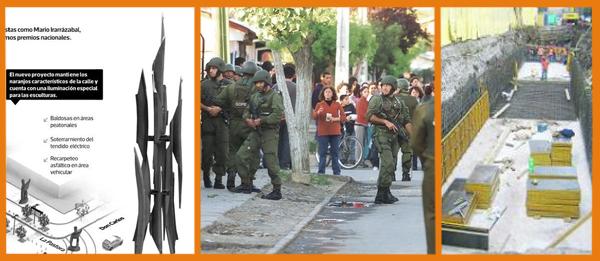 Esculturas las condes - Intervención en barrios - canal San Ramón