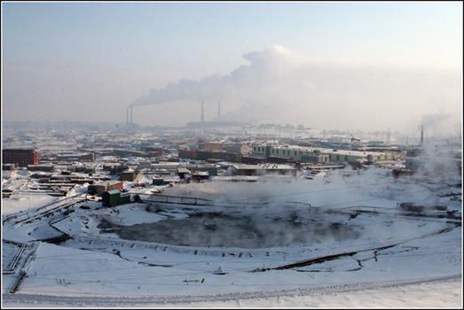 norilsk polluted