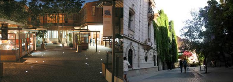 Barrio Bellavista y Barrio Lastarria. Ejemplos exitosos de barrios que han sido resultado de una renovación urbana.