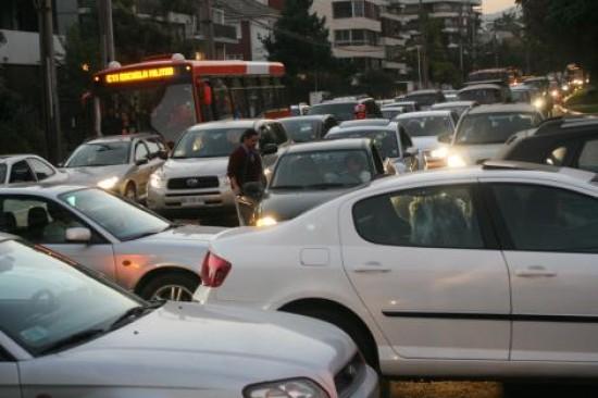 congestion en santiago 2