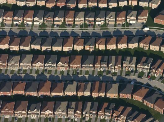 Suburbio en EEUU - foto The Infrastructurist