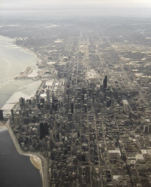 Aerial Chicago - foto por Stephen Desroches en flickr