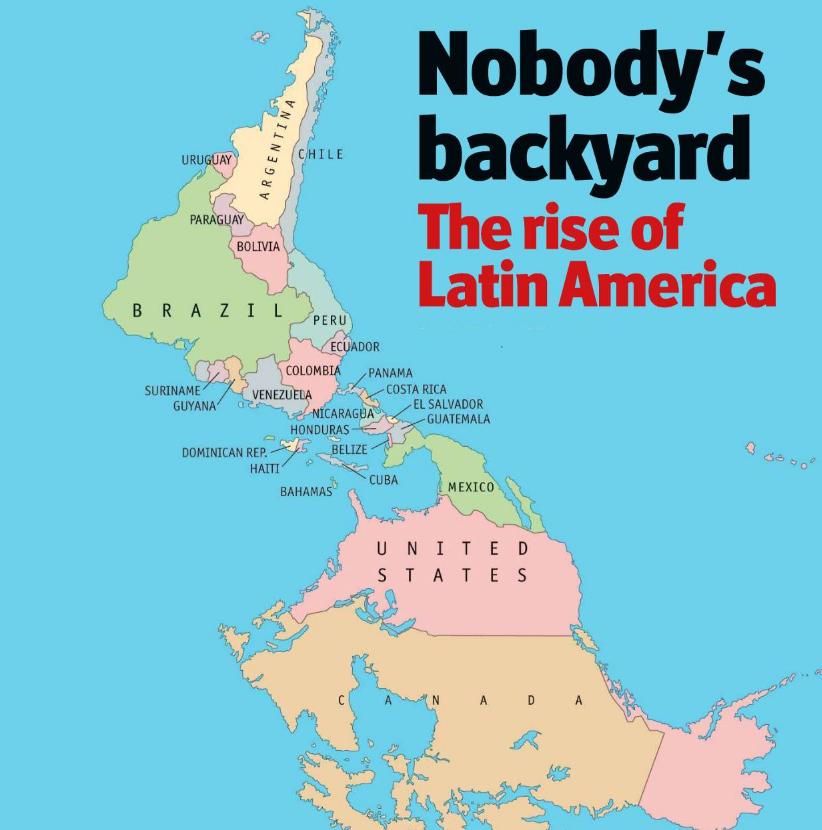 Portada The Economist © - The Rise of Latin America 09-2010