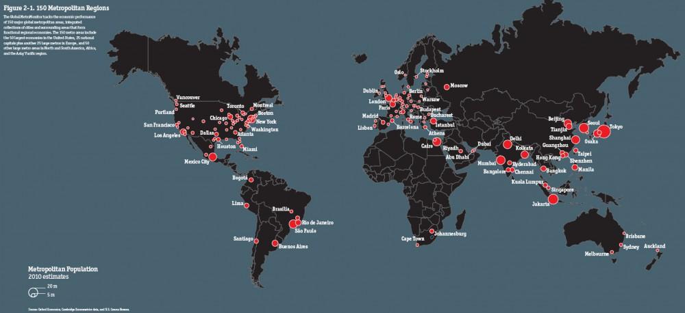 Regiones Metropolitanas_Global Metro Monitor GMM