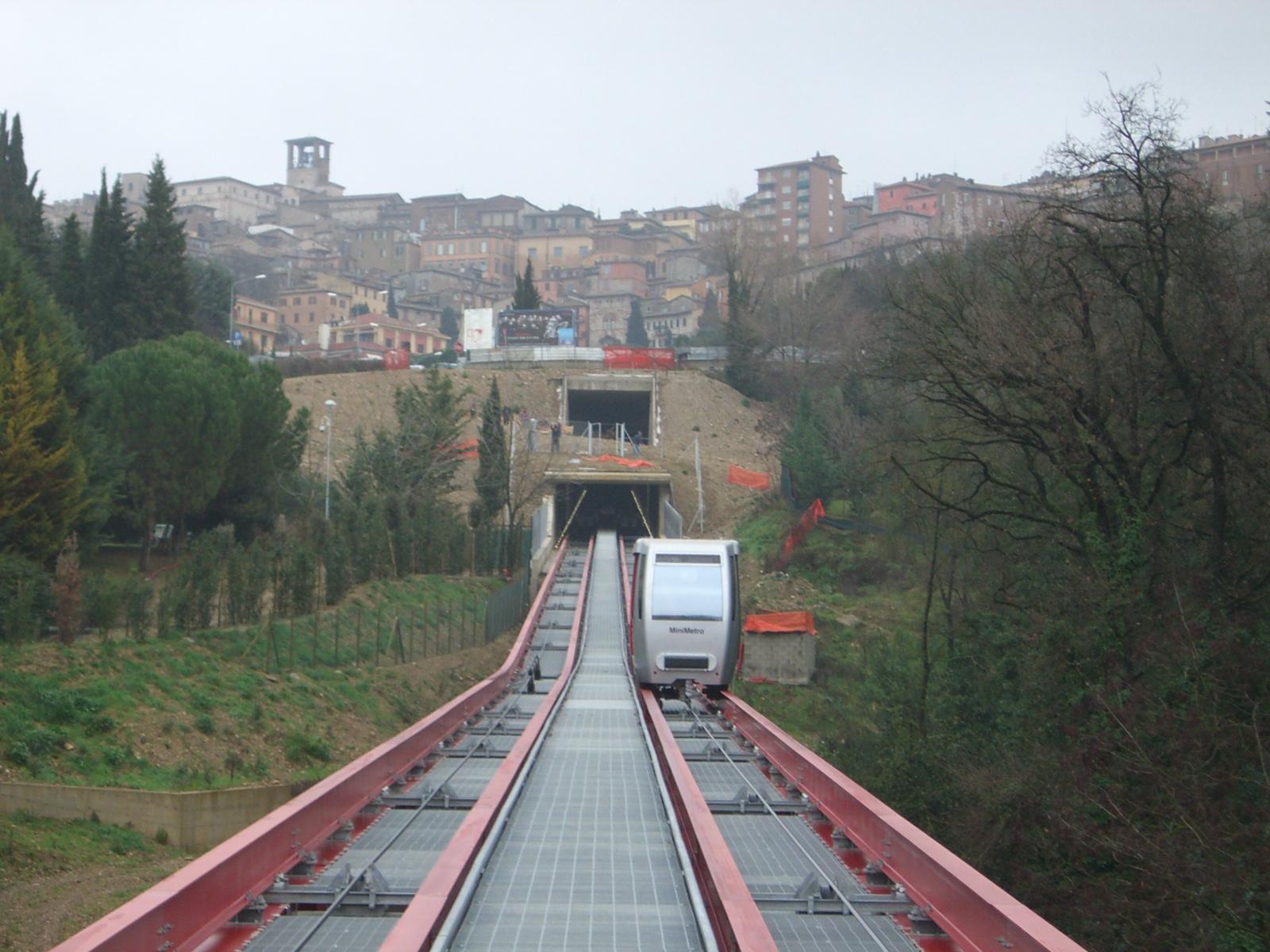 Minimetro - Nét độc đáo của Perugia