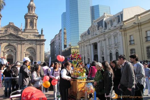 Plaza de Armas en el Día del Patrimonio