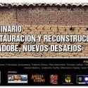 """Seminario """"Restauración y reconstrucción en adobe, nuevos desafíos"""""""