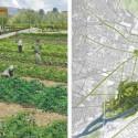 © San Martín y Pascal, Proyecto Sitio Vivo, segundo lugar. Jardín orgánico y plano
