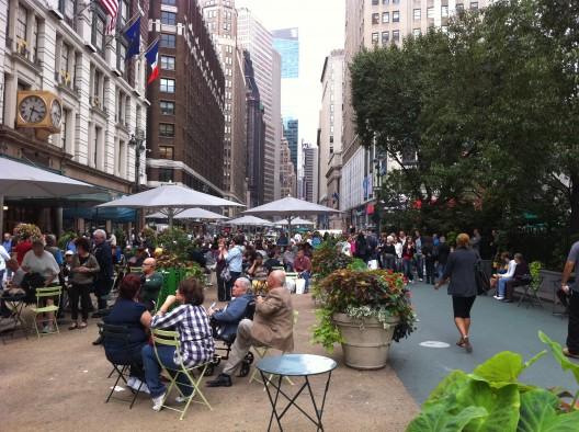 De Pavimentos a Plazas / New York - foto @vergarapetrescu