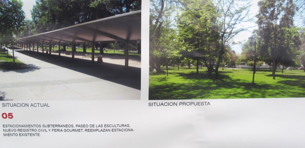 © Equipo Plataforma Urbana. Exposición del proyecto en Dirección de Desarrollo Comunitario