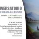 "Conversatorio: ""Dos Miradas al Paisaje"""
