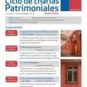 Ciclo de Charlas Patrimoniales. Unidad de Patrimonio Cultural de la Salud