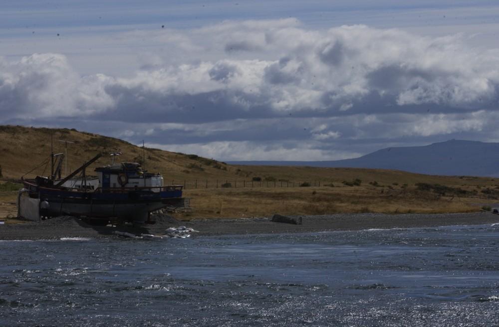 Isla Riesco, estancia Fitz Roy.