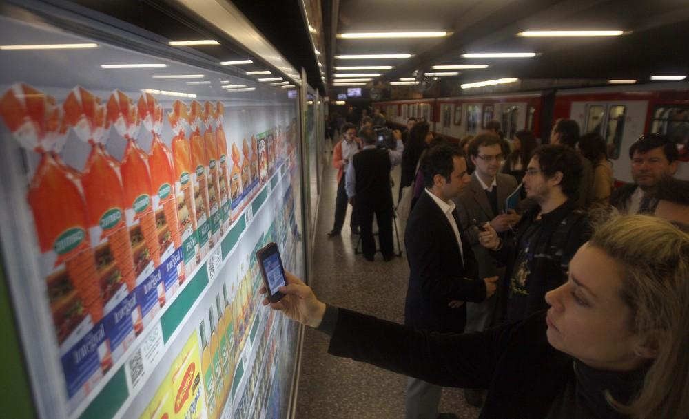 Inauguracion compras a traves de Smartphones