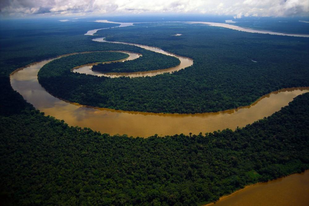 Meandering Tigre River