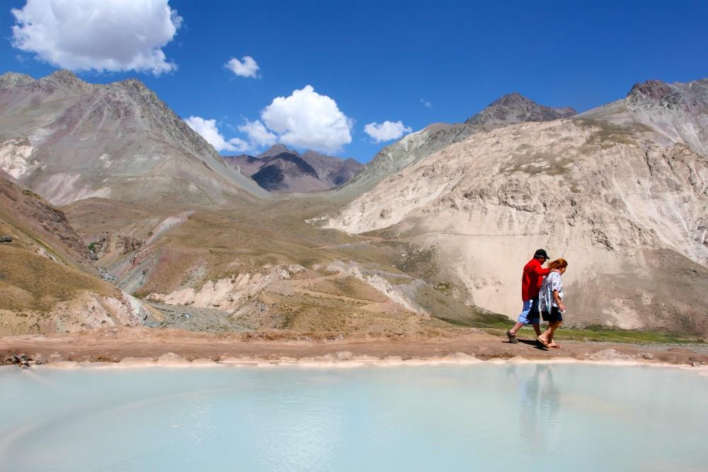 Ruta turistica Cajon del Maipo