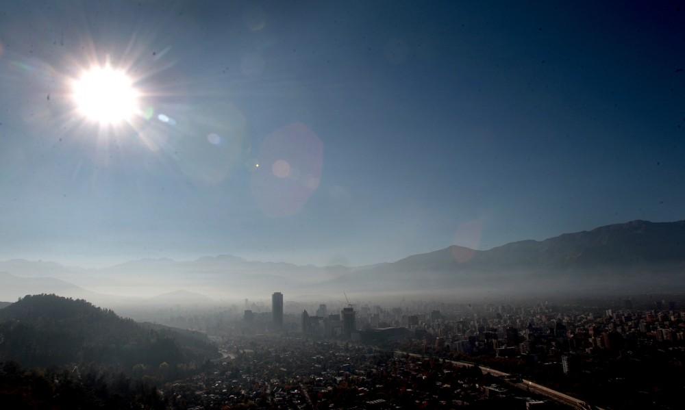 Contaminacion en Santiago